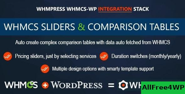 WHMCS Pricing Sliders and Comparison Tables v4.5.3 - WHMpress Addon