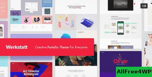 Download Werkstatt v4.4.0.1 - Creative Portfolio Theme
