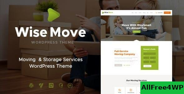 Download Wise Move v1.1.5 - Relocation and Storage Services WordPress Theme