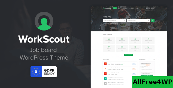 Download WorkScout v2.0.8 - Job Board WordPress Theme