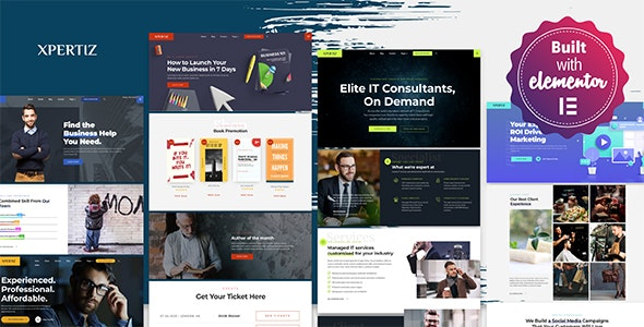 Download Xpertiz 1.2.41 - WordPress Theme For Advisors And Experts