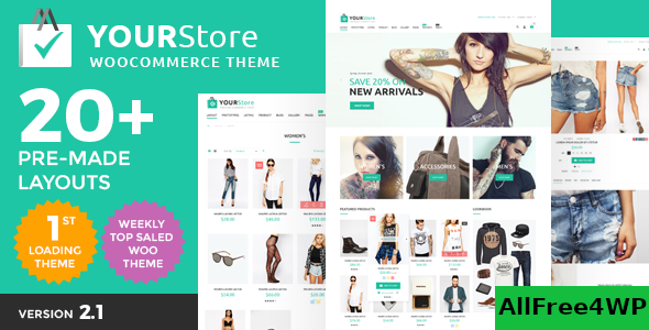 Download YourStore v2.6 - Woocommerce theme