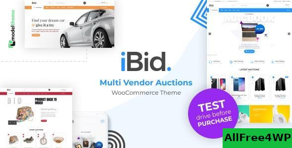 Download iBid v1.8 - Multi Vendor Auctions WooCommerce Theme