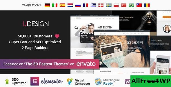 Download uDesign v3.4.0 - Responsive WordPress Theme