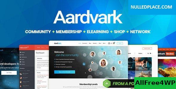 Download Aardvark v4.20 - Community, Membership, BuddyPress Theme