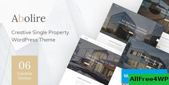 Download Abolire v1.0.7 - Single Property WordPress Theme