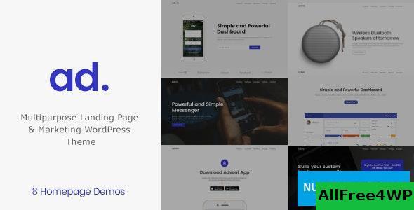 Download Advent v1.3.3 - Digital Marketing WordPress Theme