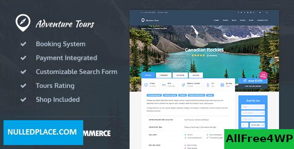 Download Adventure Tours v3.8.0 - WordPress Tour/Travel Theme