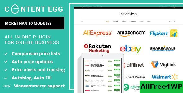 Content Egg v6.4.0 - all in one plugin for Affiliate