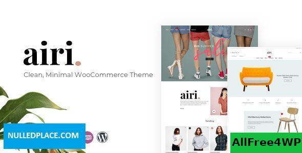 Download Airi v1.1.4 - Clean, Minimal WooCommerce Theme