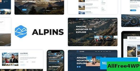 Alpins v1.1 - Mountain And Hiking Template
