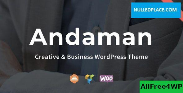 Download Andaman v1.1.2 - Creative & Business WordPress Theme
