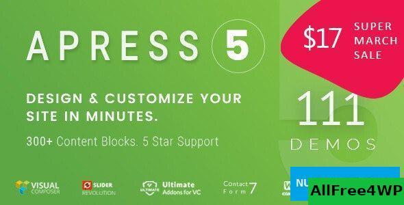 Download Apress v5.1.7 - Responsive Multi-Purpose Theme