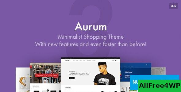 Download Aurum v3.6 - Minimalist Shopping Theme