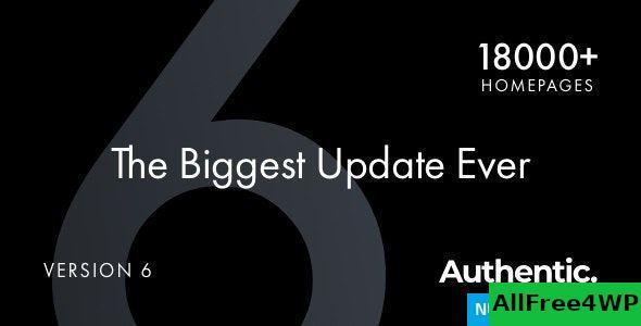Download Authentic v6.1.2 - Lifestyle Blog & Magazine Theme