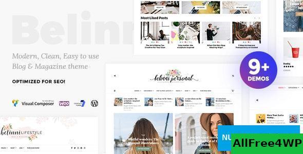 Download Belinni v1.4.0 - Multi-Concept Blog Magazine WordPress Theme