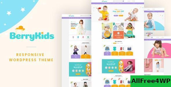 Download BerryKid v1.4 - Baby Store WooCommerce WordPress Theme