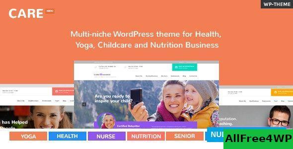 Download Care v2.4.1 - Multi-Niche WordPress Theme for Small Business