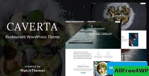 Download Caverta v1.3.2 - Fine Dining Restaurant WordPress Theme