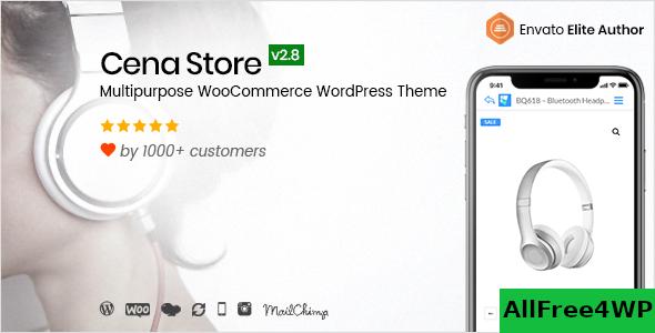 Download Cena Store v2.9.2 - Multipurpose WooCommerce Theme