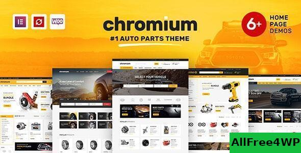 Download Chromium v1.3.11 - Auto Parts Shop WordPress Theme