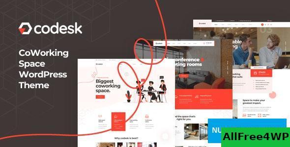 Download Codesk v1.0.0 - Creative Office Space WordPress Theme