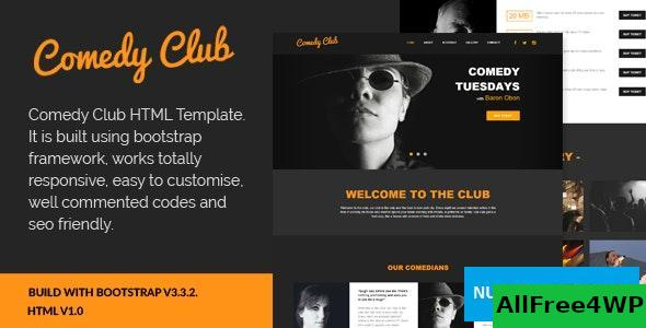 Download Comedy Club v1.0 - Entertainment HTML Template