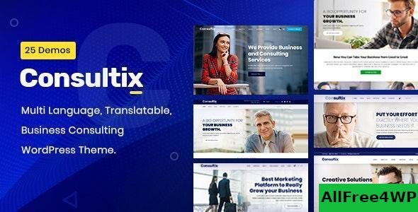 Download Consultix v2.1.5 - Business Consulting WordPress Theme