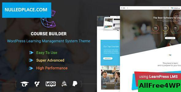 Download Course Builder v3.1.2 - LMS Theme for Online Courses