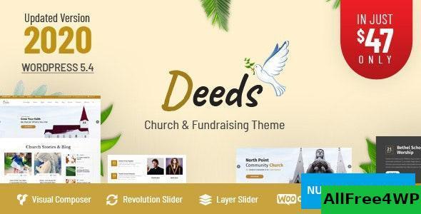 Download Deeds v8.0 - Best Responsive Nonprofit Church WordPress Theme