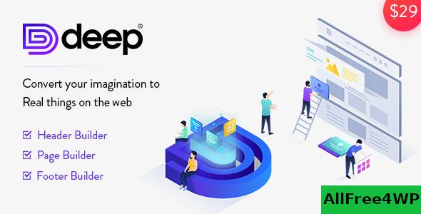 Download Deep v4.2.0 - Creative Multi-Purpose WordPress Theme