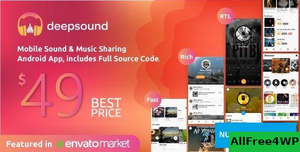 DeepSound Android v1.4 - Mobile Sound & Music Sharing Platform Mobile Android Application