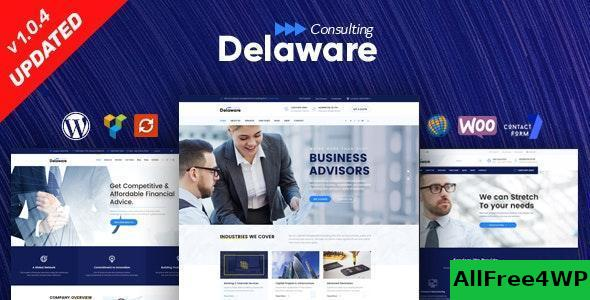 Download Delaware v1.1.1 - Consulting and Finance WordPress Theme