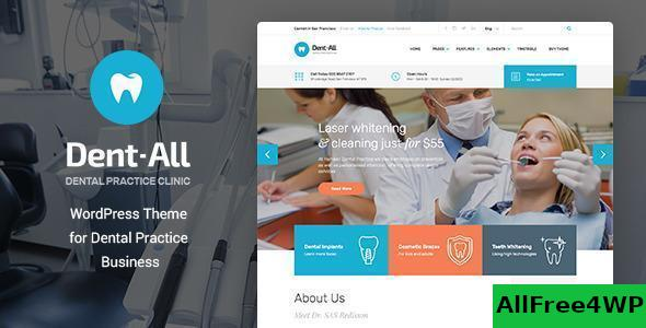 Download Dent-All v2.2 - Dental Practice WordPress Theme