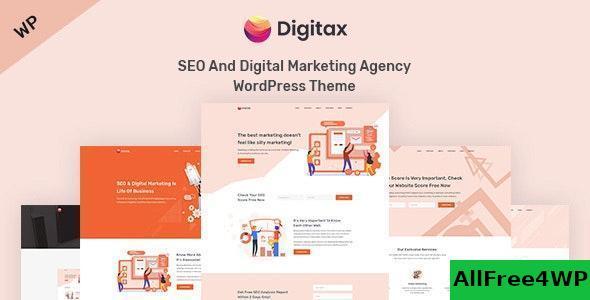 Download Digitax v1.0.6 - SEO & Digital Marketing Agency WordPress Theme