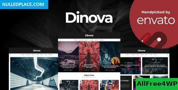 Download Dinova v1.4.6 - Alternative Magazine Gutenberg Theme