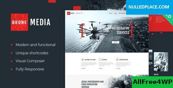 Download Drone Media v1.3.2 - Aerial Photography & Videography WordPress Theme + RTL