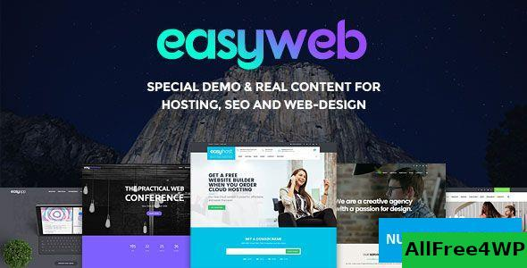 Download EasyWeb v2.4.2 - WP Theme For Hosting, SEO and Web-design