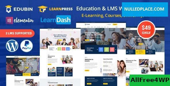 Download Edubin v5.0.8 - Education LMS WordPress Theme