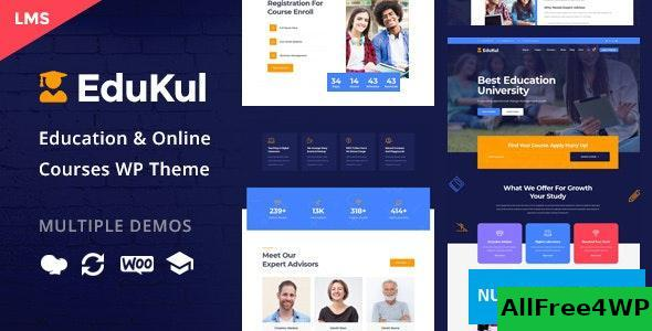 Edukul v1.4 - Online Courses WordPress Theme