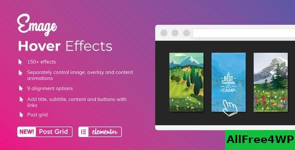 Emage v4.1.8 - Image Hover Effects for Elementor