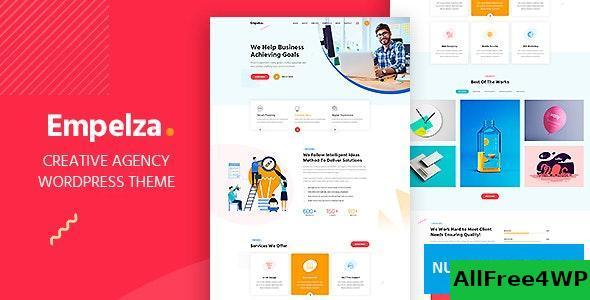 Download Empelza v1.4 - Creative Agency & Portfolio WordPress Theme