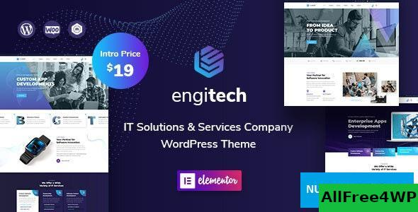 Download Engitech v1.0.2 - IT Solutions & Services WordPress Theme