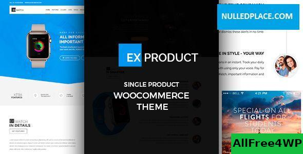 Download ExProduct v1.5.3 - Single Product theme
