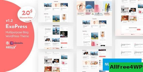 Download Exopress v1.3 - Multipurpose Personal Blog WordPress Theme