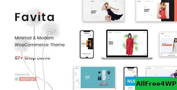 Download Favita v1.0.1 - Fashion WooCommerce WordPress Theme