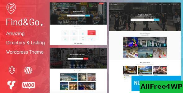 Findgo v1.3.28 - Directory & Listing WordPress Theme