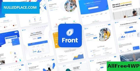 Download Front v1.0.16 - Multipurpose Business WordPress Theme