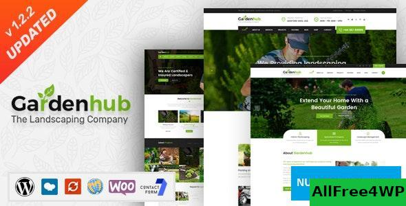 Garden HUB v1.2.2 - Lawn & Landscaping WordPress Theme