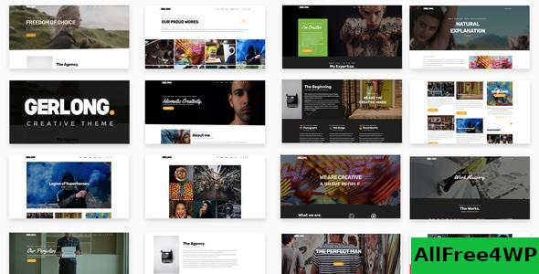 Download Gerlong v1.1.4 - Responsive One Page & Multi Page Theme